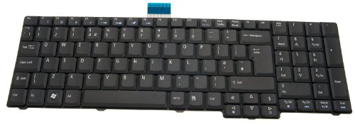 Original Acer Notebook Tastatur Aspire 7330 Serie / Keyboard UK