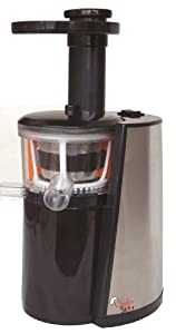Slow Star Juicer Reviews : $:BUY!! Chef s Star Slow Masticating Juicer Black & Stainless Steel - Online-99