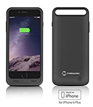 iPhone 6S Plus / 6 Plus Battery Case [Apple MFi Certified] Tek Republic Slim Rechargeable Premium…