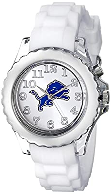 "Game Time Youth NFL-FLW-DET ""Flash White"" Watch - Detroit Lions"