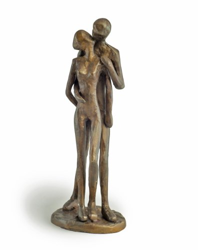 Couple Kissing Bronze Sculpture