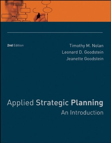 Applied Strategic Planning: An Introduction