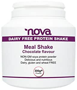 Meal Replacement Shakes For Weight Loss Vegan Chocolate Flavour With Protein Vitamins and Mineral Only 102 Calories per Meal