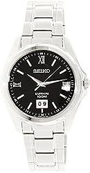 Seiko Men's SUR099 Silver Stainless-Steel Quartz Watch