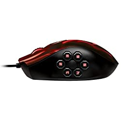 Razer Naga Hex Wraith Red Edition MOBA/アクションRPG ゲーミング マウス 【正規保証品】 RZ01-00750200-R3M1