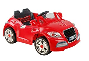 Audi Style Kids Ride On with Rechargeable Battery (Red)