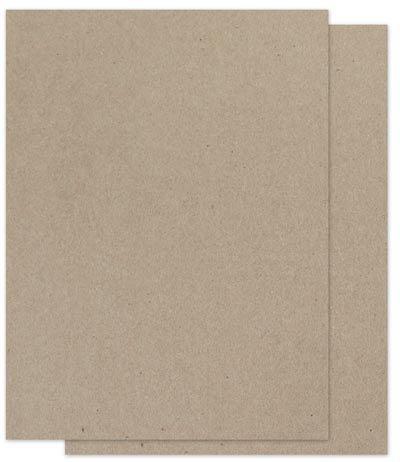 Brown Bag Paper - Kraft - 8.5 x 11-28/70lb Text - 200 PK (Color: Kraft)