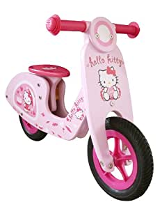 HELLO KITTY - Scooter de madera
