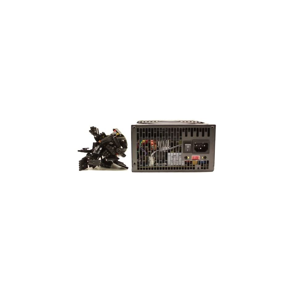 KENTEK 775 Watt 775W 120mm Fan Modular ATX Power Supply 12V 2.3 EPS12V 2.92 PCI express SATA 20/24 PIN Intel AMD by KENTEK