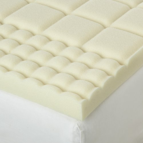 Isotonic Structure 6 Zone Memory Foam Queen Mattress Topper