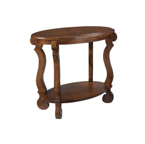 Cheap Hammary Siena Oval End Table in Tuscany (T10079-T1007936-00)