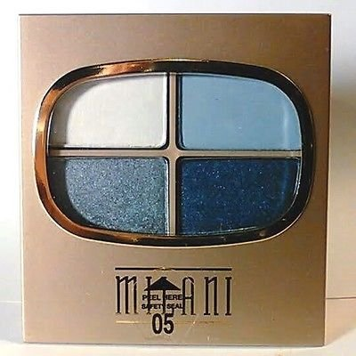 Milani Shadow Wear Eye Shadow Quad Denim Blues (Milani Eye Shadow Quad compare prices)