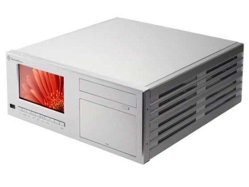 SilverStone Aluminum ATX Media Center/HTPC Case CW03S-MT - Retail (Silver) (Media Center Htpc Case compare prices)