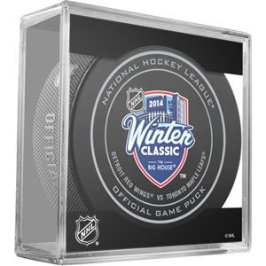Top Sher-Wood 2014 Winter Classic Official Game Puck