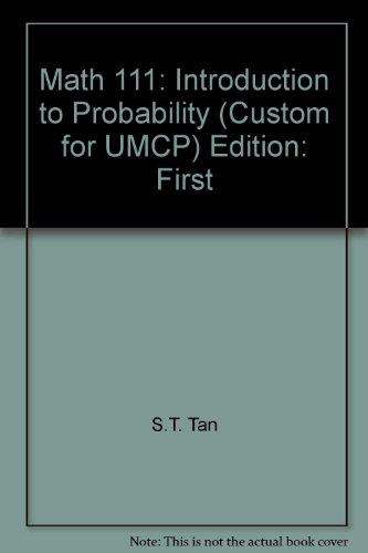 Math 111 : Introduction to Probability (Custom)