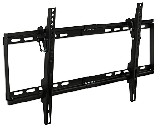 Mount-It! MI-1121M Slim Tilt TV Wall Mount Bracket for LED LCD Plasma Flat Screen Panels for 32