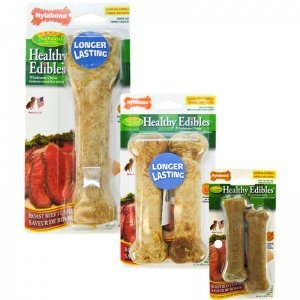 Healthy Edibles BBQ Chicken Dog Treat Size: Petite, Quantity: 2-Pack, Flavor: Roast Beef