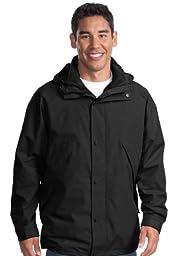 Port Authority 3-in-1 Jacket, Black/Black, XXXX-Large