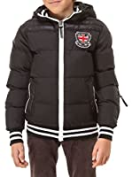 Geographical Norway Chaqueta Guateada (Negro)
