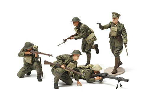 Tamiya Models World War I British Infantry Set - 1