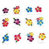Fun Express Hibiscus Glitter Tattoos (Package of 36)