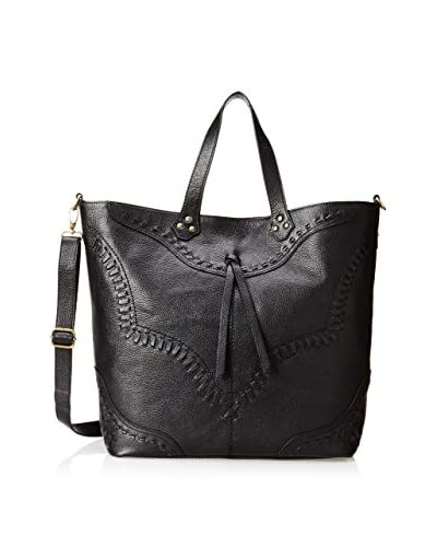 Isabella Fiore Women's Western Front Tote, Black