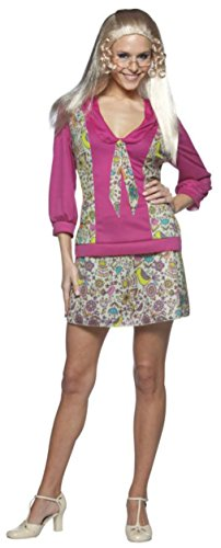 Rasta Imposta Womens Jan Brady Bunch Series 60S 70S Halloween Costume