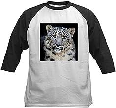 CafePress Kids Baseball Jersey - Snow Leopard Baseball Jersey