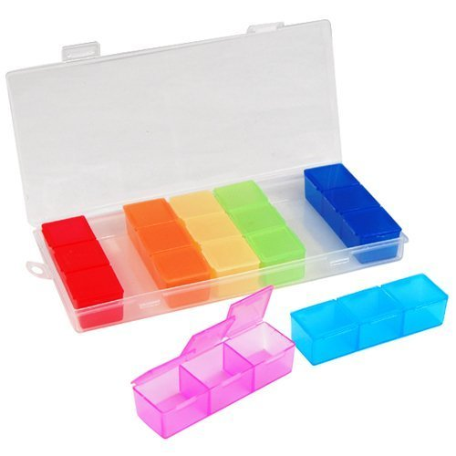 World PrideÃ'® 7 Day 3 Times In-a-day Rainbow Pill Case by World Pride