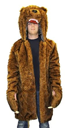 Halloween Costumes 2013: Workaholics Official Bear Coat - One Size