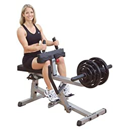 Body Solid GSCR349 2 x 3 Seated Calf Raise Machine
