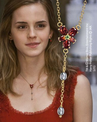 Hermione's Gold Plated Necklace