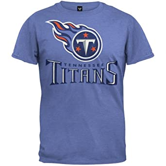 Tennessee Titans - Logo Soft T-Shirt by NFL