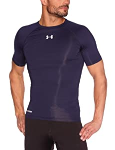 Under Armour Sonic Compression Men's T-Shirt - Midnight Navy, S