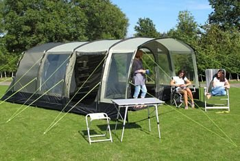 Kampa Hayling 6 Berth Family Tunnel Tent 2011 Model.