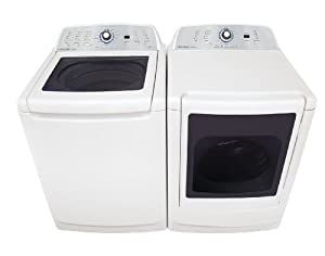 Frigidaire Laundry Bundle | Frigidaire FAHE4044MW Top-Load Washer & Frigidaire
