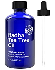 *Discover the new 100% pure and Natural Radha Tea Tree Oil  *Try it 100% risk free, Beside a great product you will get the BEST customer Service, if you are not 100% satisfied we will give you a full refund and you keep the bottle.   Radha Beauty T...