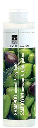 Olive Oil Shampoo for Normal/Dry Hair 250ml e / 8.45 fl oz by Bodyfarm by Bodyfarm