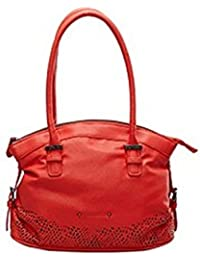 Caprese Women's Satchel (Brick Red)