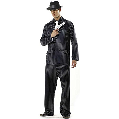 Adult Men's Mafia Halloween Costume (One Size)