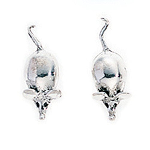 silvadore-925-sterling-silver-stud-earrings-mouse-mice-rat-rodent-a730-butterfly-clasp-free-gift-box