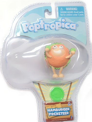Poptropica Pocketeer 2 Inch Mini Figure Hamburger