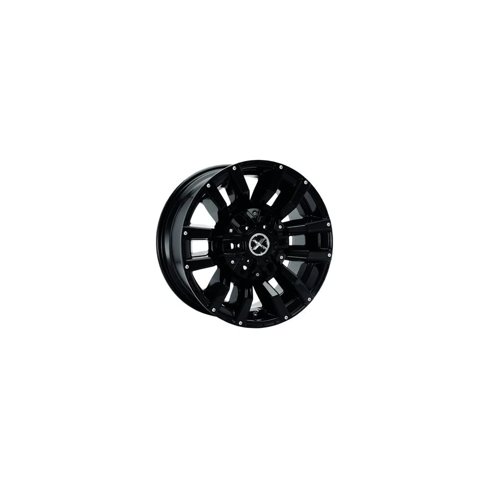 American Racing ATX Clash 17x8.5 Black Wheel / Rim 8x170 with a 6mm Offset and a 130.81 Hub Bore. Partnumber AX309078570