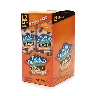Blue Diamond Habanero BBQ Almond (Pack of 12)
