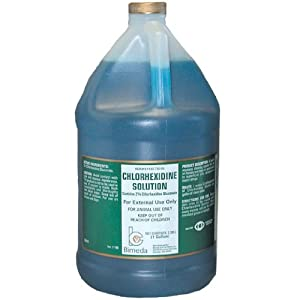 Bimeda Chlorhexidine Solution for Dogs and Horses, 1-Gallon