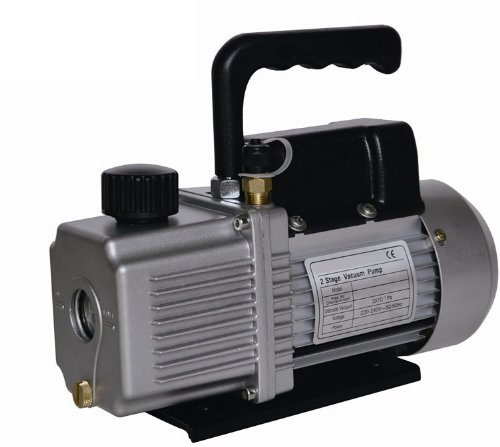 Vacuum Pump Air Conditioner Refrigeration 12.0 CFM 2 Stage 1HP HVAC/R Service 110v