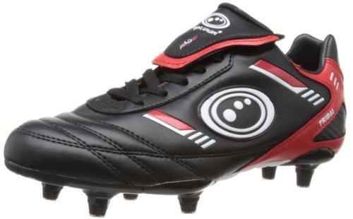 Optimum Mens Tribal Football Boots FBTLBS10 Black/Red 10 UK, 44 EU