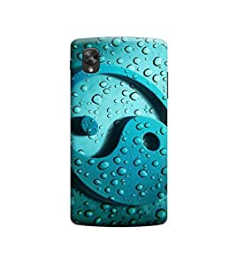 Ebby Premium Printed Back Case Cover With Full protection For LG Nexus 5 (Designer Case)