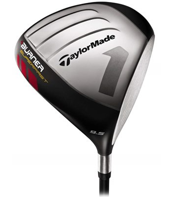 TaylorMade Burner Superfast Driver (Right Hand, Graphite, Stiff, 9.5 Degrees)