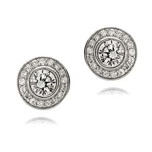 Rafaela Donata Glamour Collection Damen-Ohrstecker 925 Sterling Silber Zirkonia weiß  60832007